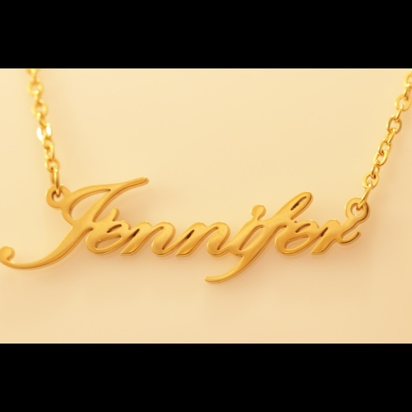14K Gold Plated Necklace - Jennifer NWT